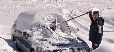 Что не следует делать с авто на морозе